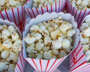 Popcorn Healthy Halloween Treats