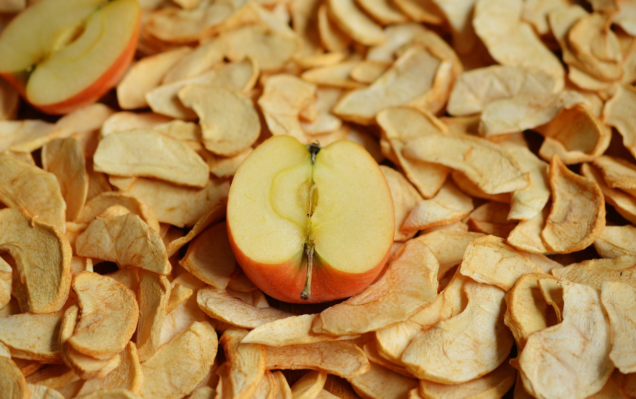 apple chips make great vegan team snacks