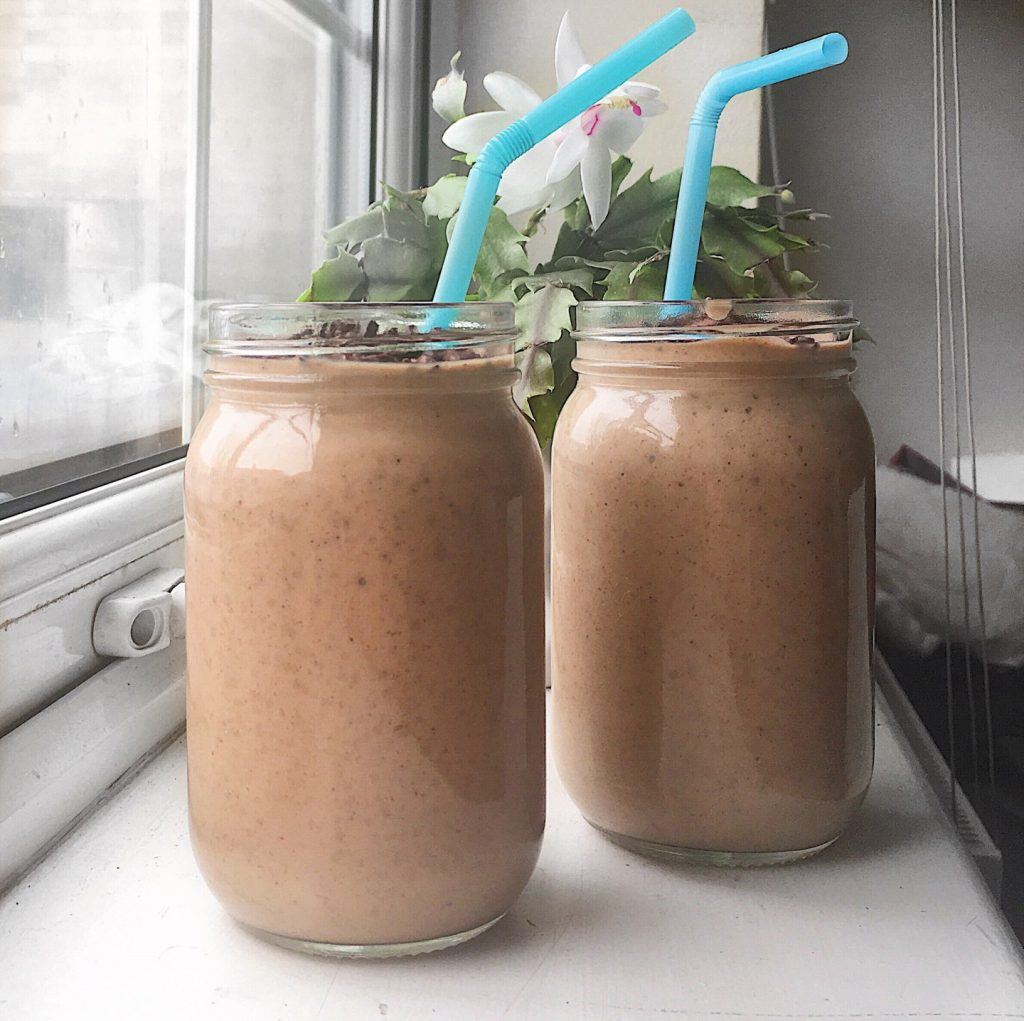 Chocolate & Peanut Butter Smoothie